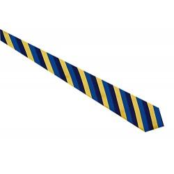 Cravatta da Lavoro a righe regimental per receptionist - assistenti di volo - Isacco
