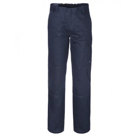 Pantalone da lavoro unisex invernale blu o grigio per operai/magazzinieri - Termoplus+