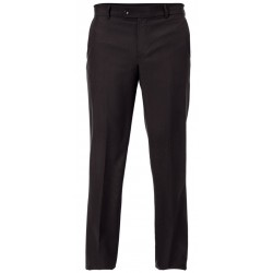 Pantalone da lavoro uomo sfoderato Slim fit nero per camerieri, receptionist, maitre - Giblor's