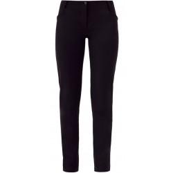 Pantalone da lavoro donna Layla nero o bianco vita bassa slim fit per estetiste parrucchiere - Giblor's