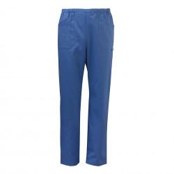 Pantalone da lavoro unisex Milano azzurro/verde per settore sanitario-estetico-ristorativo - Siggi