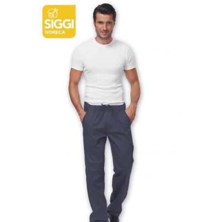 Pantalone da lavoro uomo Josh stertch grigio per cuochi - Siggi Horeca