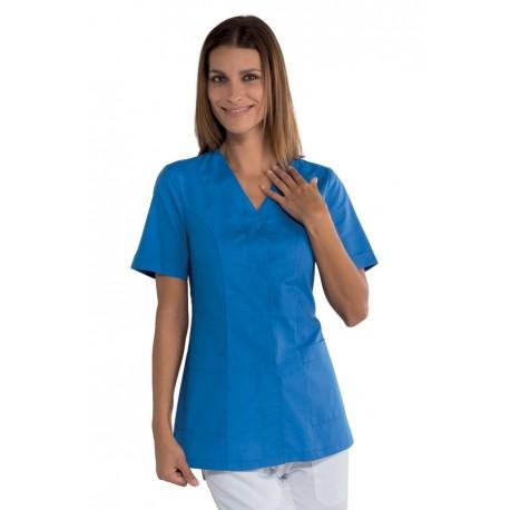 Casacca da lavoro mezza manica donna Sion per odontoiatri, assistenti poltrona, estetiste- Isacco
