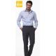 Pantalone da lavoro uomo classico Barry nero/blu/grigio - Siggi