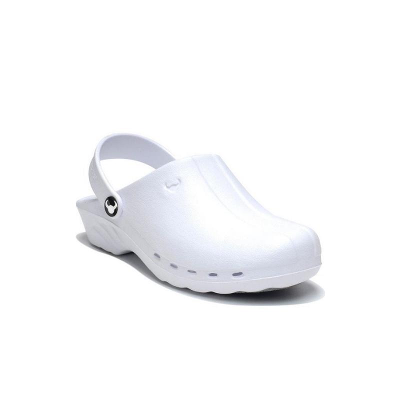 scarpe di separazione f43c5 a1ac0 Zoccolo da lavoro ODEN bianco unisex per medici, infermieri, dentisti-  Isacco