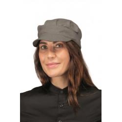 Cappello da lavoro unisex Sam smoke per bar-gelaterie - Isacco