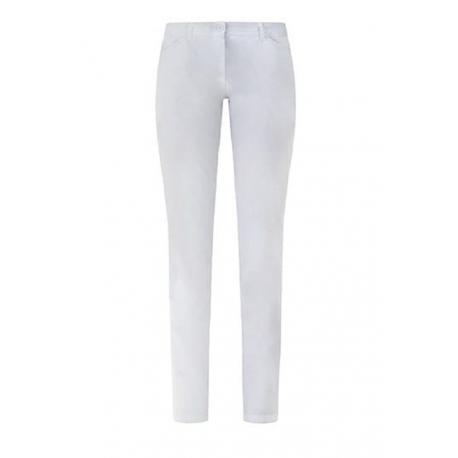 Pantalone da lavoro donna Giulia modello slim con bottone e passanti per infermiere - assistenti- Giblor's
