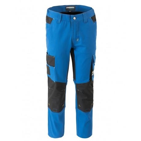 Pantalone da lavoro uomo Thunder multistagione con tasconi e porta ginocchiere in tessuto elasticizzato - Rossini