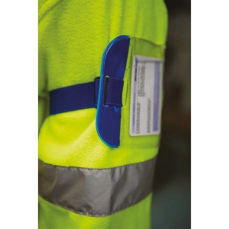 Fascia da braccio porta-badge regolabile resistente e impermeabile - Top-Tex