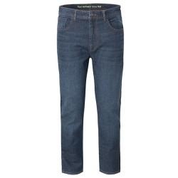 Jeans da lavoro blu scuro unisex Feel Good vestibilita' regular, 5 tasche - Rossini