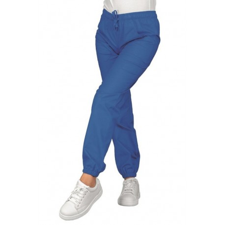 Pantalone unisex pantagiaffa con elastico alle caviglie 185 g/m2 per settore sanitario/estetico - Isacco