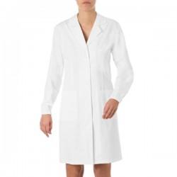 Camice da lavoro donna Janeta bianco per farmaciste - Giblor's