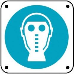 Cartello è obbligatorio usare la maschera