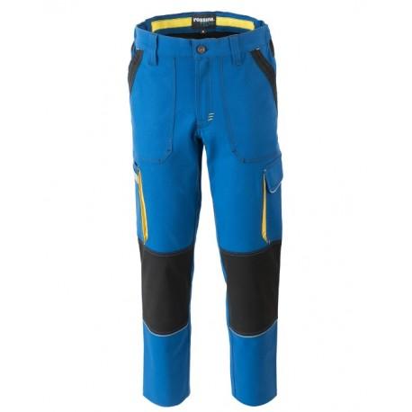 Pantalone da lavoro uomo Ultraflex multistagione con tasconi per operai - Rossini Tech
