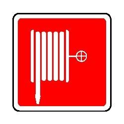 Cartello lancia antincendio - Naspo