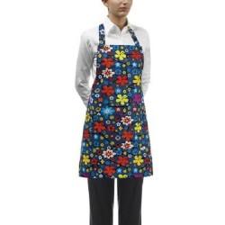 Grembiule da lavoro donna con stampe colorate per cameriere/banconiste - Egochef