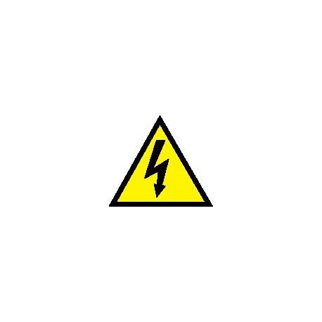 Cartello scariche elettriche