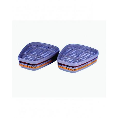 Filtri 3M 6057 serie 6000 ABE1Confezione da 2 pezzi