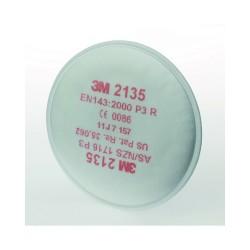Filtri 3M 2135 serie 2000 per polveri FFP3 - Confezione da 2 pezzi