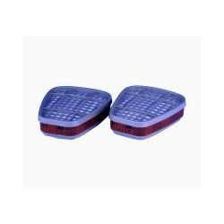Filtri 3M 6051 serie 6000 A1Confezione da 2 pezzi