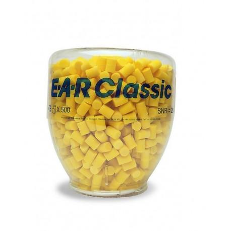 Ricarica Ear Classic  per distributore tappi - confezione da 500 paia