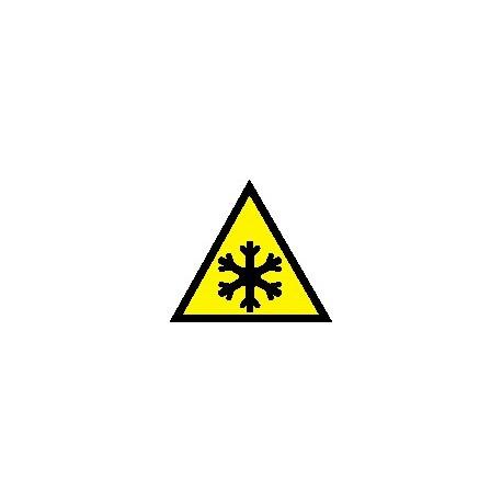 Cartello bassa temperatura