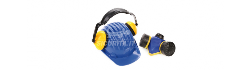 Protezione udito e vie respiratorie